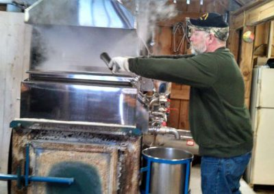 sugarmaker at work