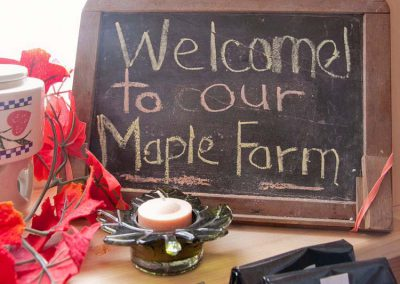 welcome to our maple farm