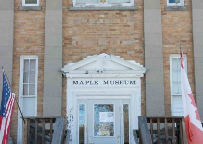 maple museum entrance